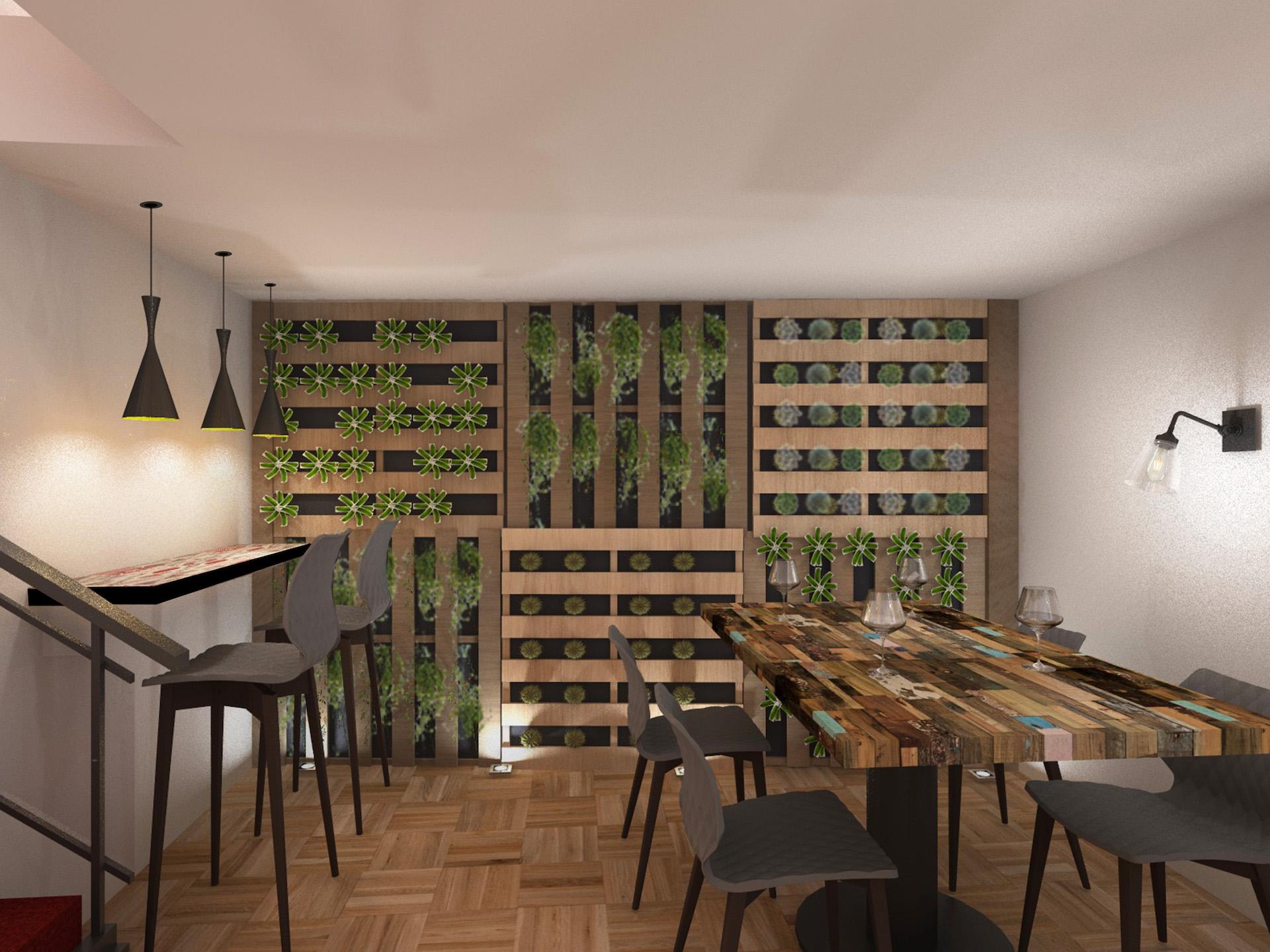 Décoration restaurant tapas Saint-Raphael