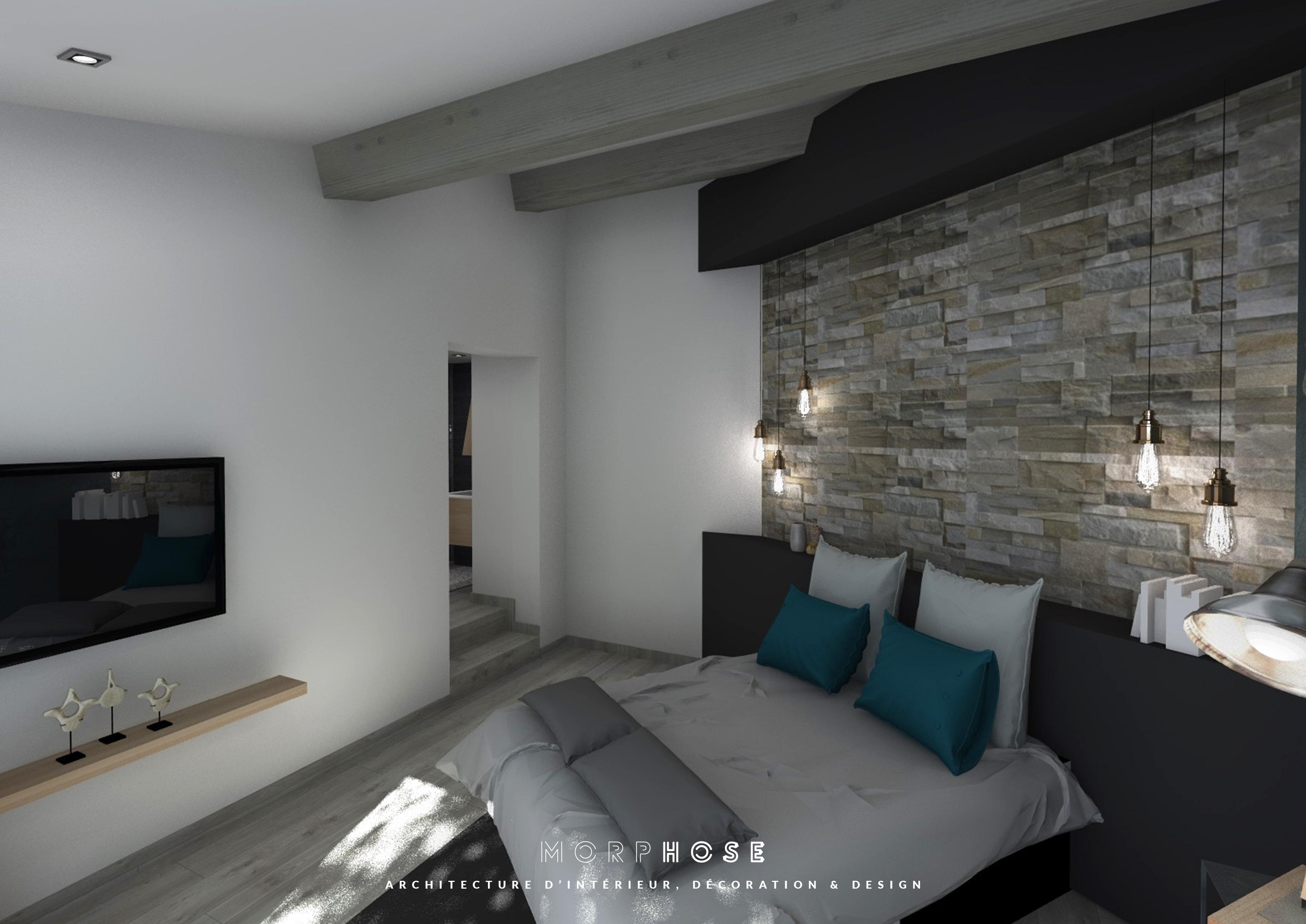 rénovation intérieure d'une villa aux issambres - morphose