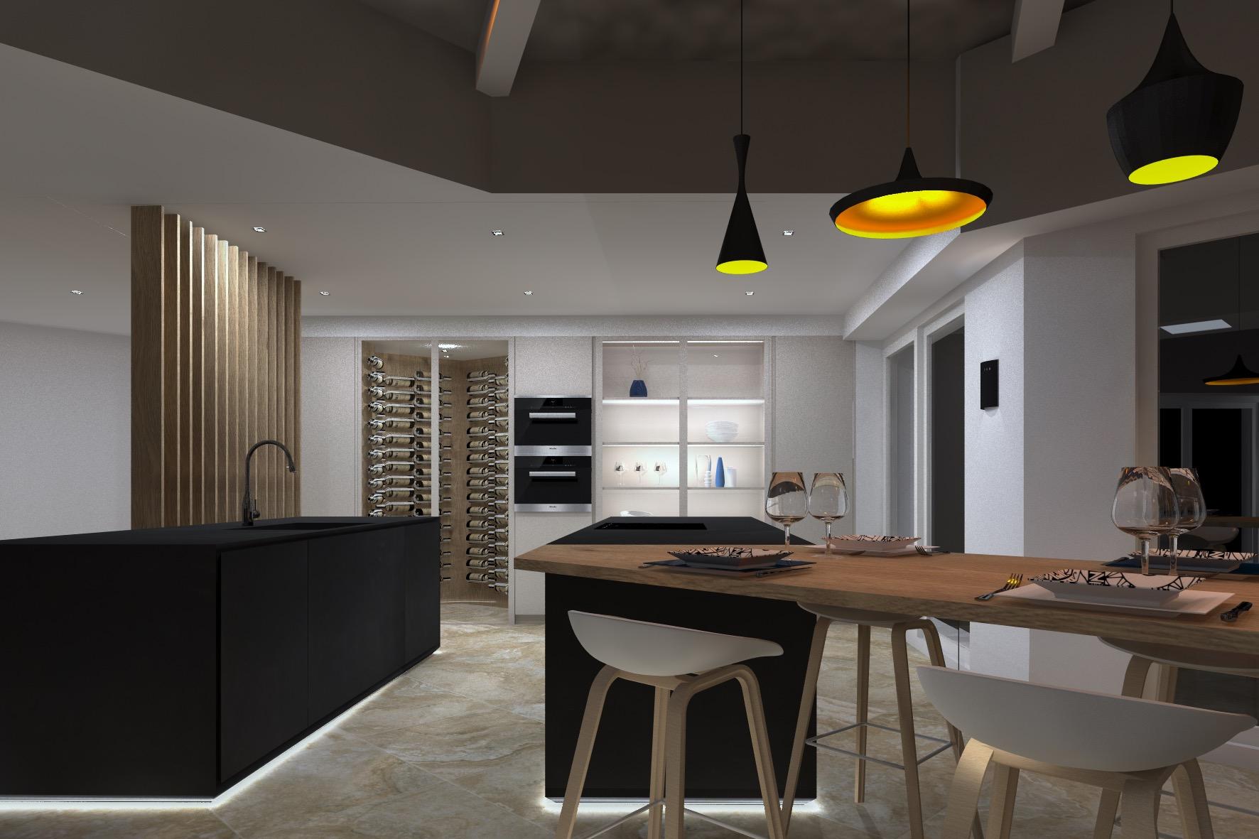 Appartement de 180m2 Cavalaire projet 21