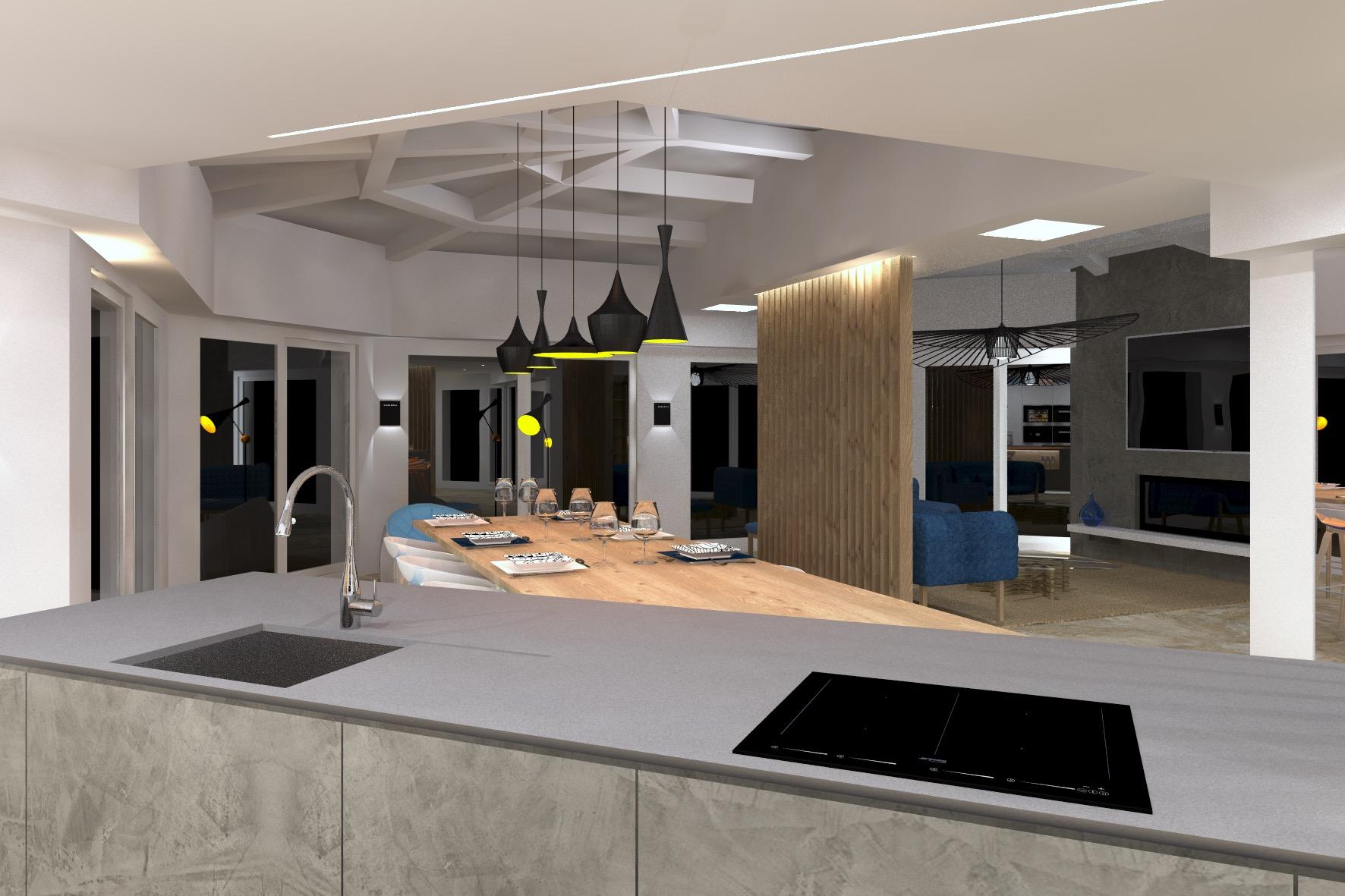 Appartement de 180m2 Cavalaire projet 24