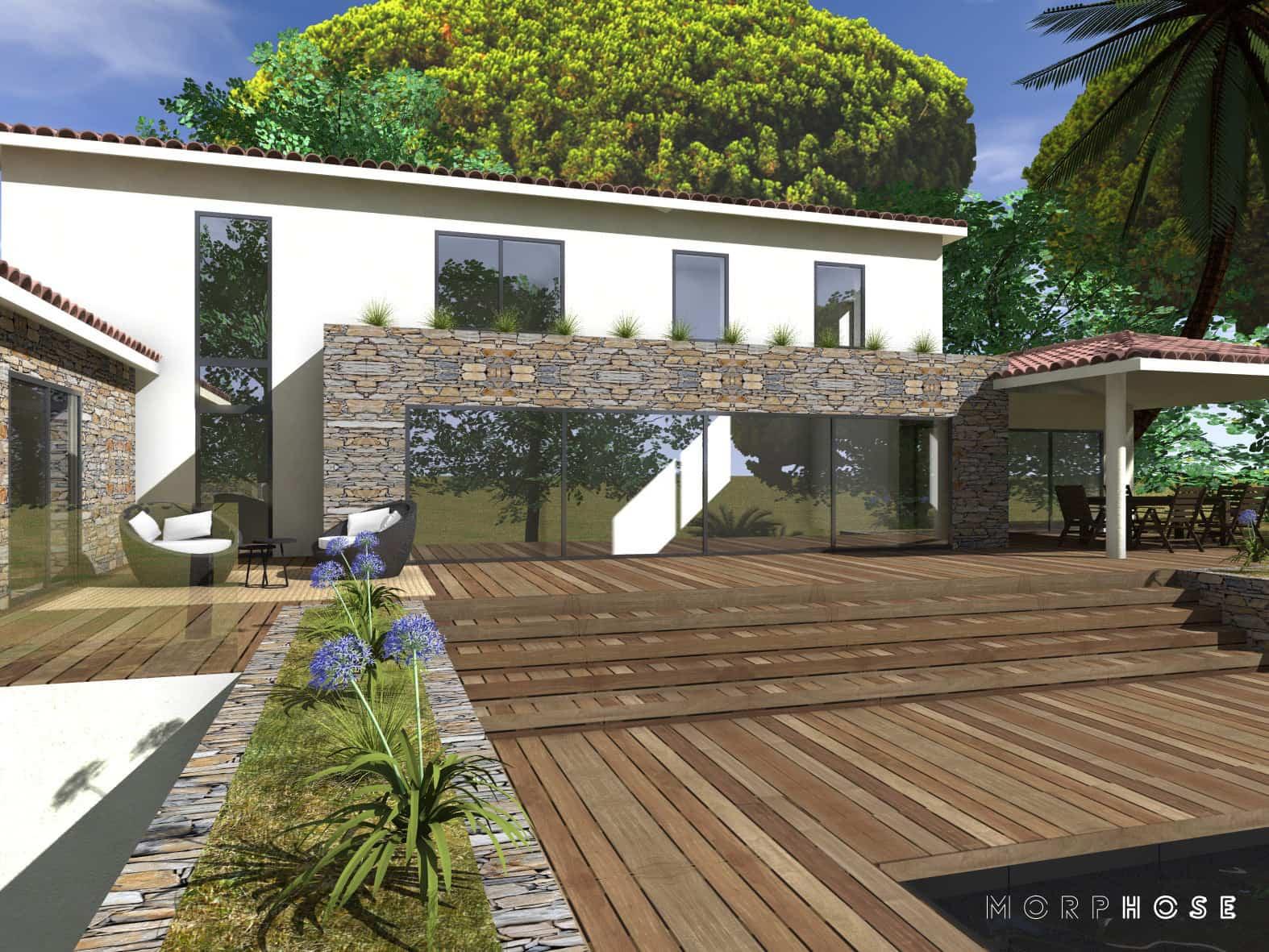 conception villa sainte-maxime var1