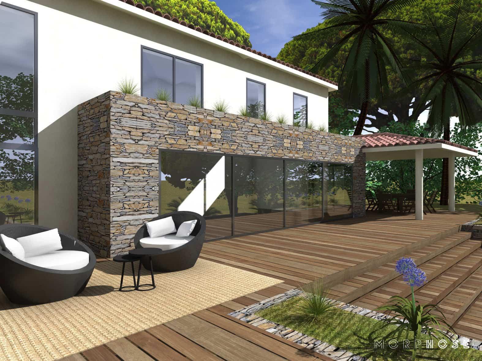 conception villa sainte-maxime var3