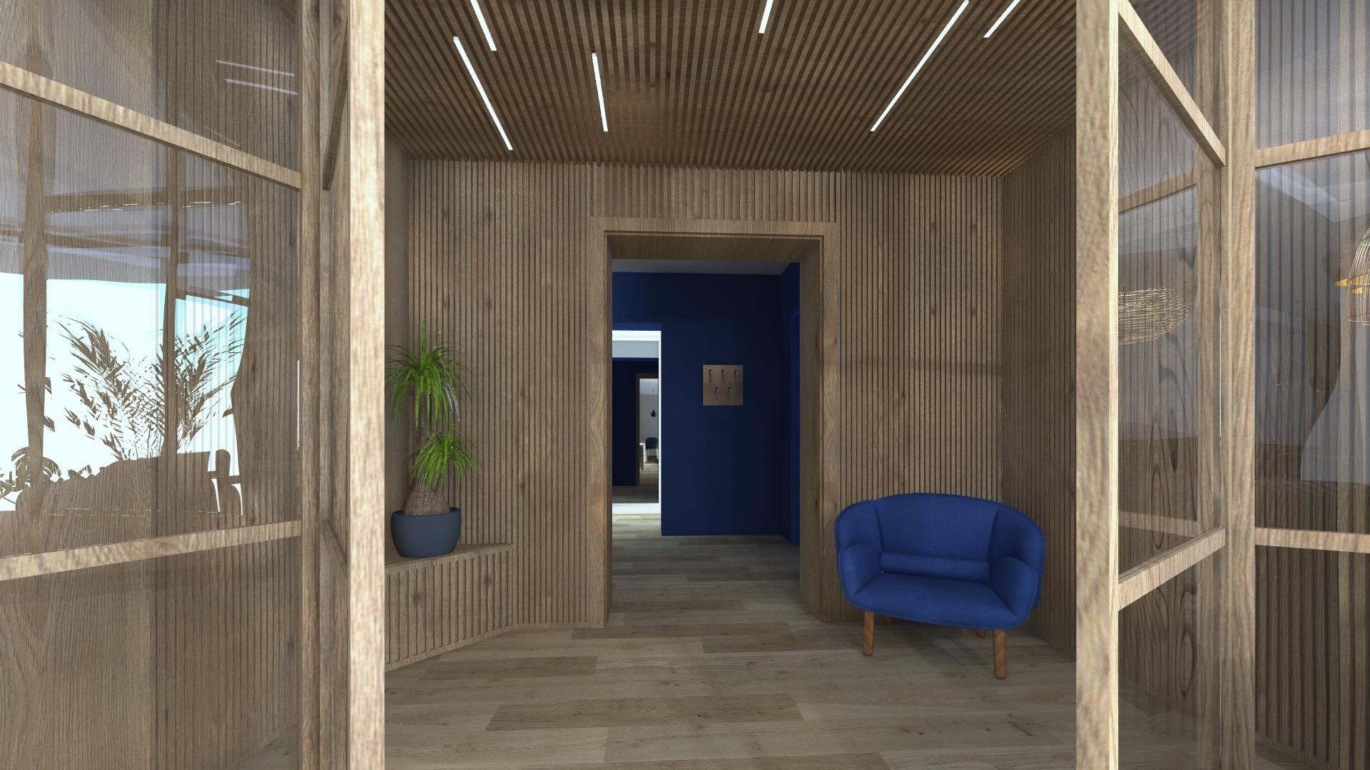 Renovation villa flayosc Morphose architecture d'intérieur