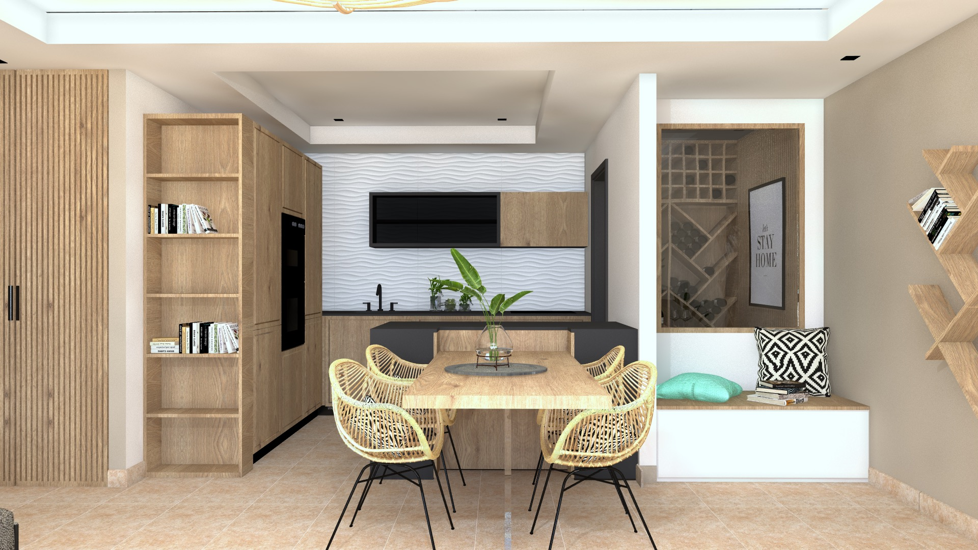 renovation appartement vue mer sainte-maxime