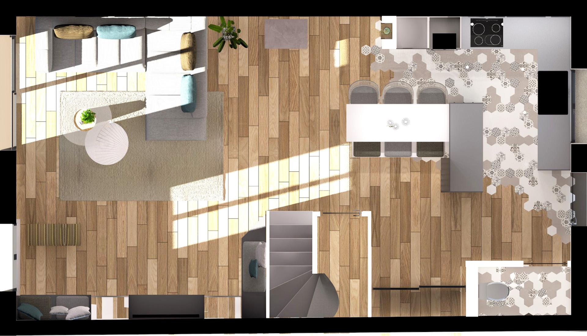 renovation architecte d'intérieur Mas de guerrevieille